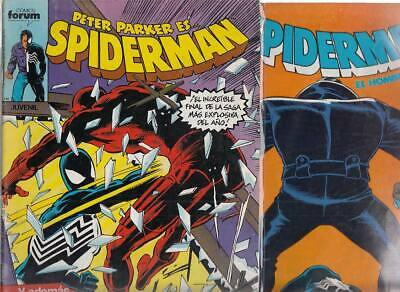 SPIDERMAN.VOL. 1  Nºs.  137.  140 .         ( LOTE  2  NUMEROS  )   FORUM...