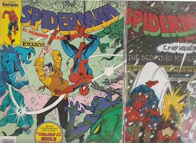 SPIDERMAN.VOL. 1  Nºs.    212.    215 .         ( LOTE  2  NUMEROS  )   FORUM...