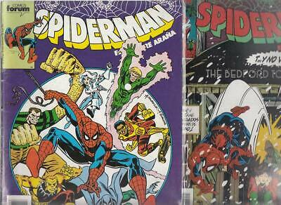 SPIDERMAN.VOL. 1  Nºs.   215.  217          ( LOTE  2  NUMEROS  )   FORUM...
