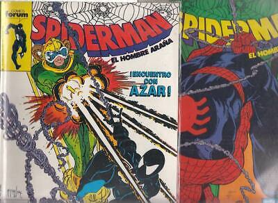 SPIDERMAN.VOL. 1  Nºs.   188.  198.    ( LOTE  2  NUMEROS  )   FORUM...