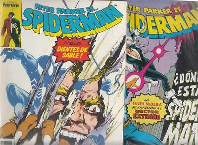 SPIDERMAN.VOL. 1  Nºs.   167.  168.    ( LOTE  2  NUMEROS  )   FORUM...