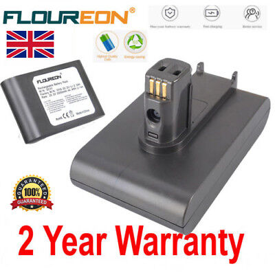 2.0Ah 22.2V Vacuum Cleaner Battery For Dyson DC35 Animal DC34 DC44 DC45 64167