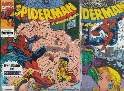 SPIDERMAN.VOL. 1  Nºs.  249.   233.     ( LOTE  2  NUMEROS  )   FORUM...