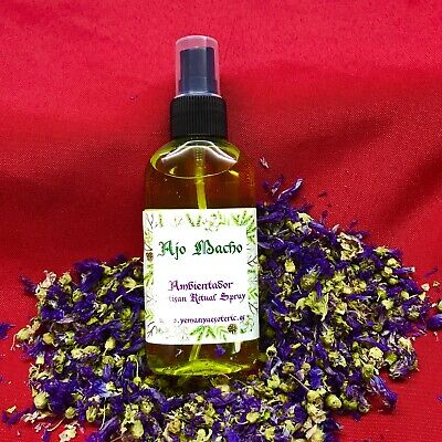 AMBIENTADOR ESOTERICO AJO MACHO Ritual Spray 100 ml - spell witches wicca