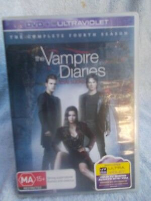 The Vampire Diaries Complete Fourth Season  6 Disc Boxset  Dvd Ma R4