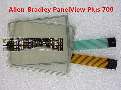 NEW FOR Allen Bradley 700 2711P-T7C4A6 Touch Screen Glass