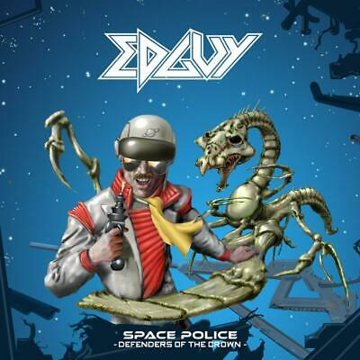 EDGUY Space Police - Defenders Of The Crown CD HELLOWEEN/GAMMA RAY/AVANTASIA NEW