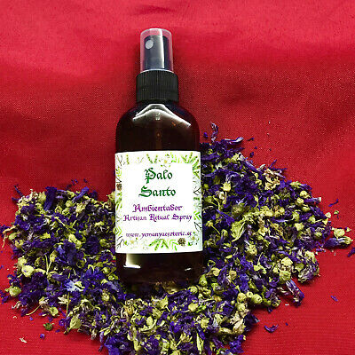 AMBIENTADOR ESOTERICO PALO SANTO Ritual Spray 100 ml -spell witches wicca