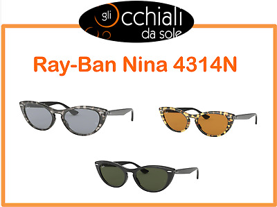 RayBan RB3026 occhiali da sole cat eye Occhiali da sole da donna cat eye Occhiali da sole colorati a forma di vintage Occhiali da sole da donna