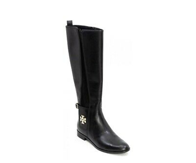 953014a87ff Tory Burch WYATT Leather Riding Boot Flat Boots OVER THE KNEE Sz 7.5  500+  MSRP