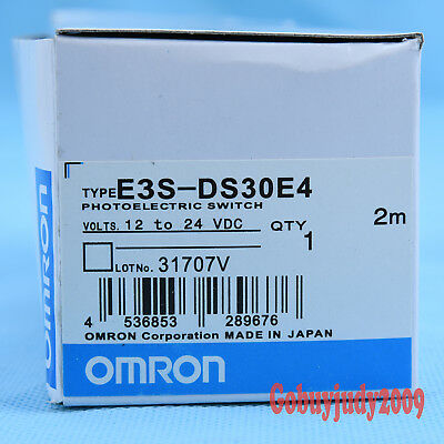 New Omron E3S-DS30-B4 Photoelectric Switch 12 To 24 VDC Fits free shipping