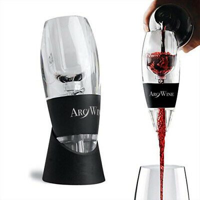 Premium Red Wine Magic Aerator/Pourer/Decanter - Gift Box, Stand, Velvet Pouch