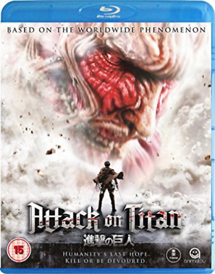 ATTACK ON TITAN - THE MOVIE 1 (UK IMPORT) Blu-Ray NEW
