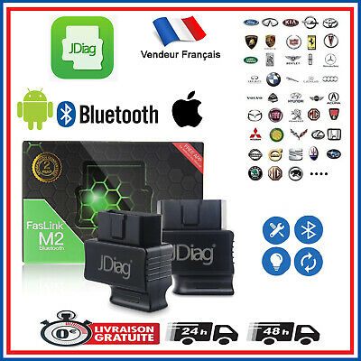 Valise de diagnostique Bluethtoot Android & Apple / Code Erreur / Scan / OBD ll