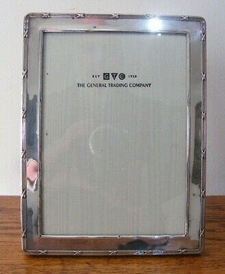 """A HALLMARKED LONDON 1999 SOLID SILVER PHOTO PICTURE FRAME 8.5"""" x 6.5"""" INCHES"""