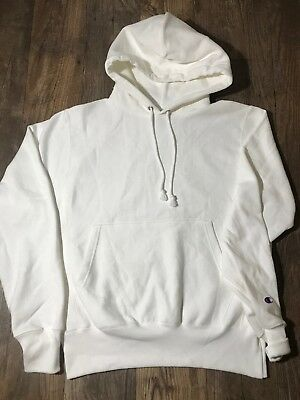 3401217a6ecb Champion x Urban Outfitters Reverse Weave Icon Hoodie White New Small S