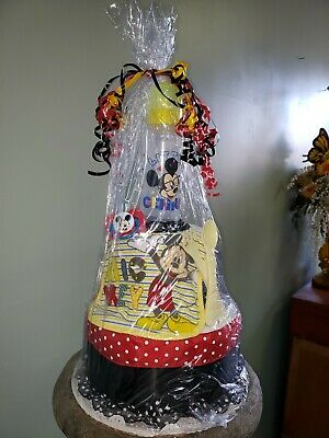 Baby Shower Diaper Cake Mickey Mouse