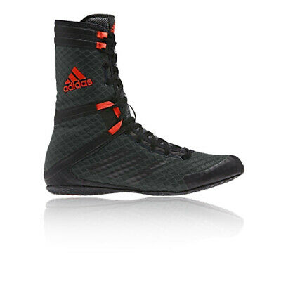 adidas Mens Speedex 16.1 HC Boxing Shoes Black Red Sports Breathable Lightweight