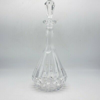"""Vintage Gorham Crystal Decanter with Stopper ~ 14"""" Tall"""