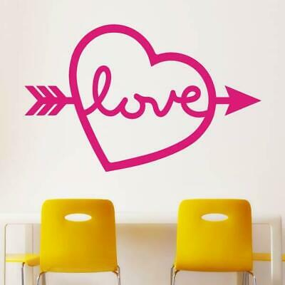Wall Decals Stickers Love Heart Tree