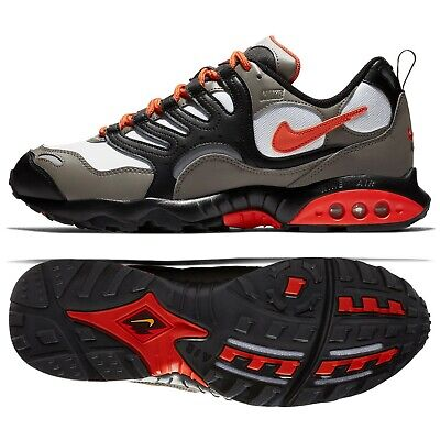 fcdd4e3e65f8f8 NIKE AIR TERRA Humara  18 Lifestyle Shoes Olive Grey Orange Sneakers ...