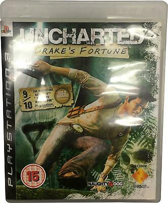 PRE-OWNED Sony Uncharted Drake Fortune Playstation PS3 Game Age 15+