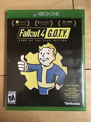 FALLOUT 4 G O T Y  XBOX One Game of The Year Edition - Used maybe once