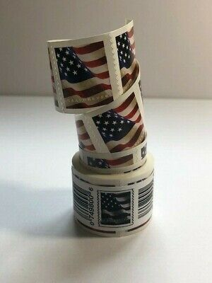 200 stamps USPS Forever Postage Stamps ( 2 rolls US FLAG ) value for$110