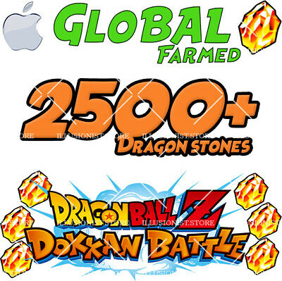 🌟Limited Sale🌟 iOS - Dokkan Battle - 2500+ Dragon Stones - Global🌟
