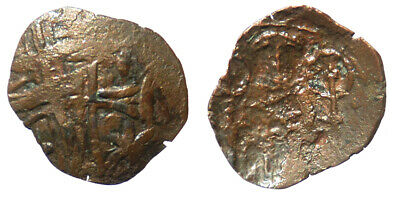 Byzantine Andronicus II Palaeologus AE Trachy Thessalonica mint SB 2387