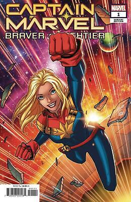 Captain Marvel Braver & Mightier | #1 Choice of Covers & Issues | MARVEL | 2019