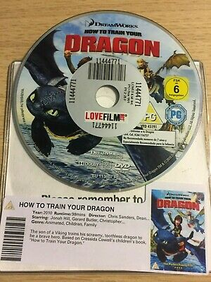 How To Train Your Dragon (DVD, 2008) DISC ONLY