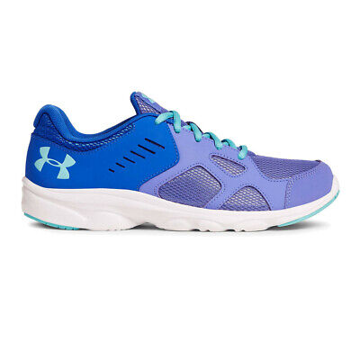Under Armour Girls Pace Junior Running Shoes Trainers Sneakers Purple Sports