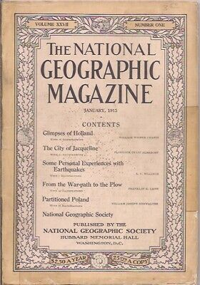 national geographic-JAN 1915-PARTITIONED POLAND.