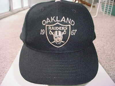 5305ee679831d2 NFL Oakland Raiders 1967 snapback baseball hat SEE ADD USED by Roman USA