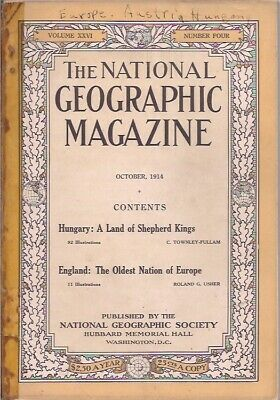 national geographic-OCT 1914-ENGLAND:THE OLDEST NATION OF EUROPE.