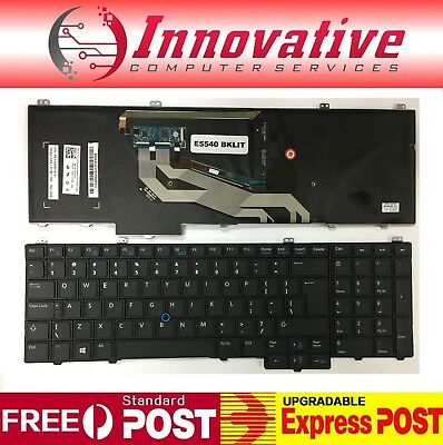 New Laptop Keyboard Dell Latitude 15 5000 E5540 Mouse Pointer US Backlit
