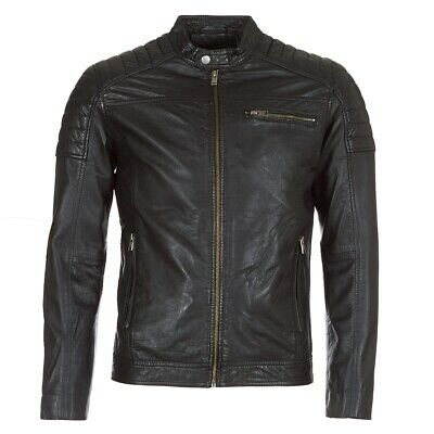 Selected  Giacca in pelle uomo   SLHJACK  Nero  7863997