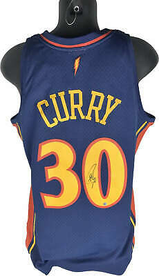 e632d13d44e Steph Stephen Curry Signed Autographed Rookie Warriors Jersey Steiner Sports