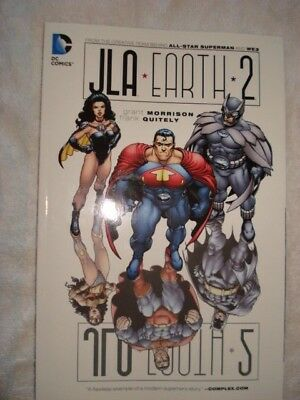 JLA Earth 2 Softcover Graphic Novel Dc Comics Soft Cover NEW