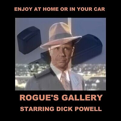 Rogue's Gallery. Enjoy 23 Old-Time Radio Detective Shows In Your Car Or Home!