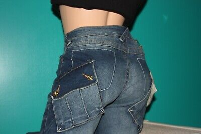 3f74983a8d Baby Phat Women s Denim Capris Awesome Size 9   New Directions Top Size  Small