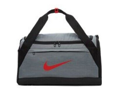 02c69c3e4936 NIKE BRASILIA DUFFEL Bag Black Medium Size 61 Litre Gym Training Bag ...