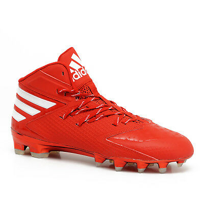 online retailer 48006 62c15 New Adidas Freak X Carbon Mid Mens Football Cleats - Red