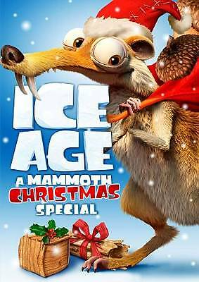 Ice Age: A Mammoth Christmas Special (DVD, 2011, Widescreen) FREE Shipping/NEW