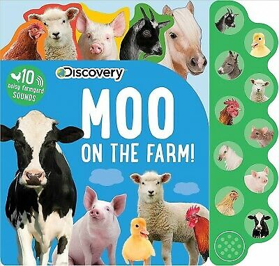 Moo on the Farm!, Hardcover by Silver Dolphin Books (COR), Like New Used, Fre...