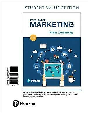 Principles of Marketing, Paperback by Kotler, Philip; Armstrong, Gary, ISBN 0...