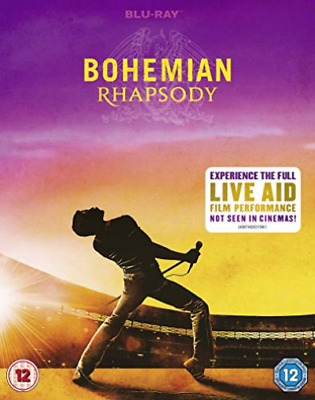 Bohemian Rhapsody Retail Blu-Ray Disc (Uk Import) Blu-Ray New
