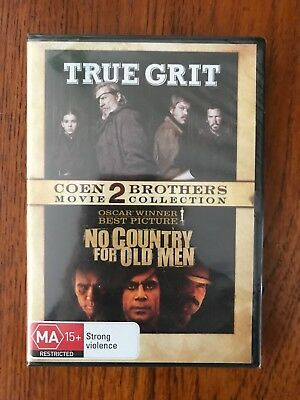True Grit / No Country For Old Men DVD Region 4 New & Sealed