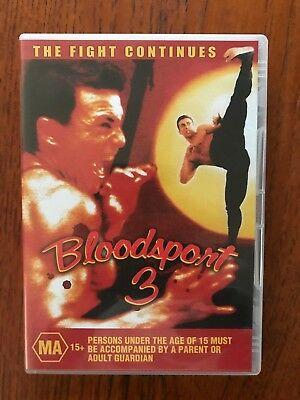 Bloodsport 3 DVD Region All Disc VGC